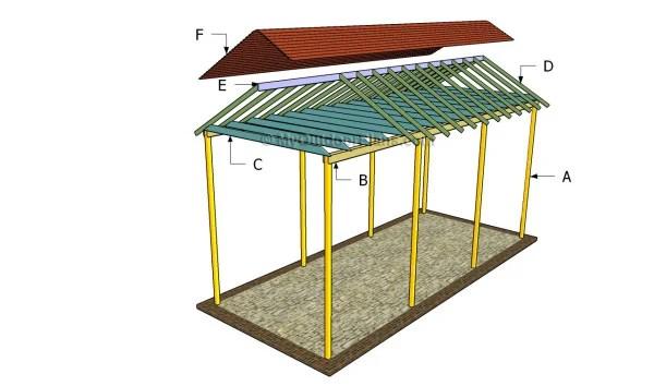 Rv Carport Plans MyOutdoorPlans Free Woodworking Plans