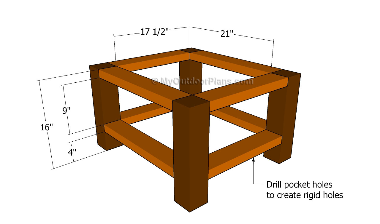 Pdf plans end table plans download basic wood working for Side table plans
