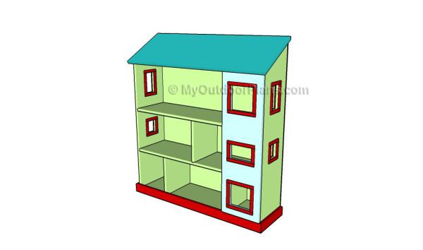 Simple Dollhouse Plans Myoutdoorplans Free Woodworking