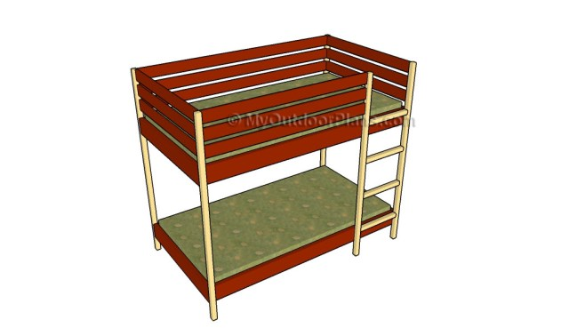 Free Plans For Wood Bunk Beds, Free... - Amazing Wood Plans