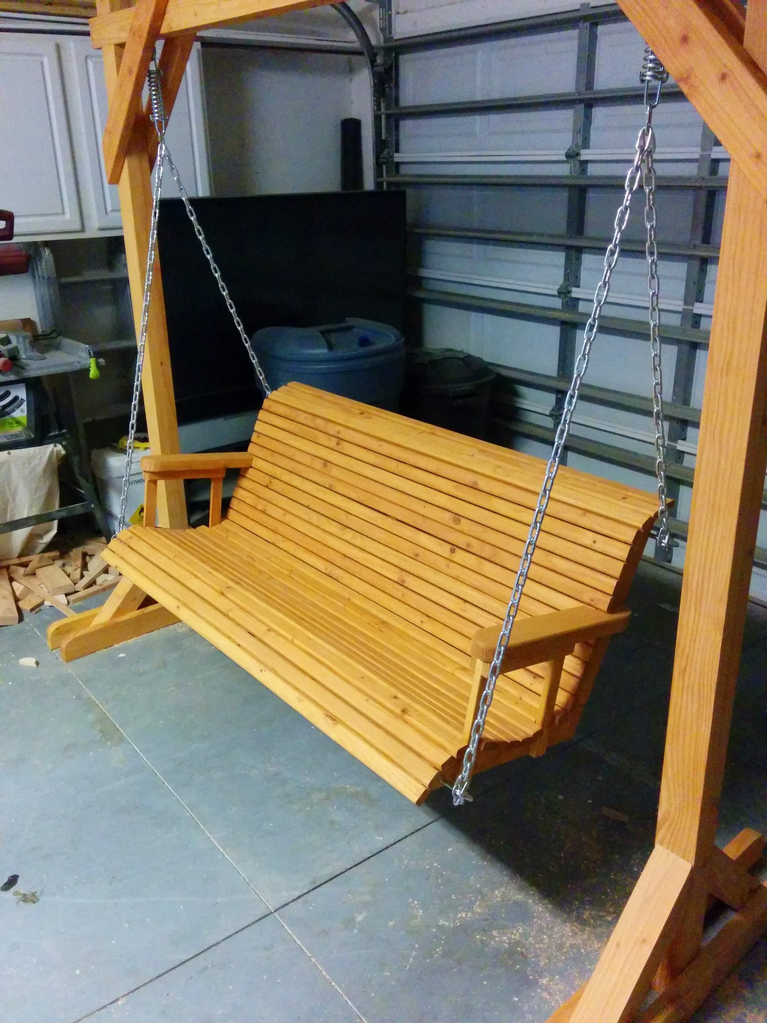 Diy Swing Bench Myoutdoorplans Free Woodworking Plans
