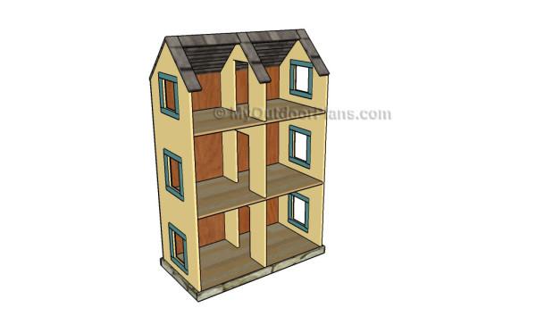 Dollhouse Plans Myoutdoorplans Free Woodworking Plans