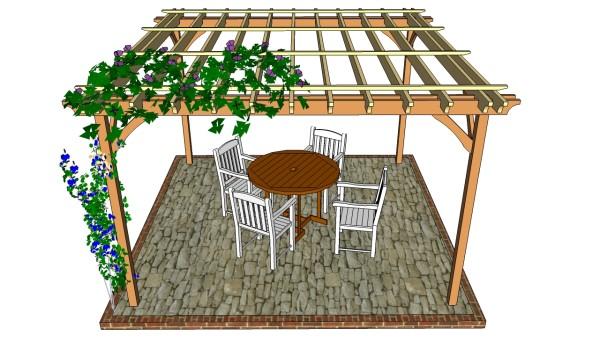 Pergola Design | MyOutdoorPlans | Free Woodworking Plans ... on My Patio Design id=66655