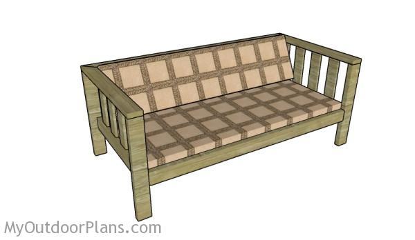 Backyard Sofa Plans Myoutdoorplans Free Woodworking