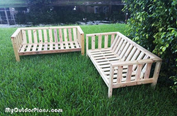 Diy Outdoor Couch Myoutdoorplans Free Woodworking