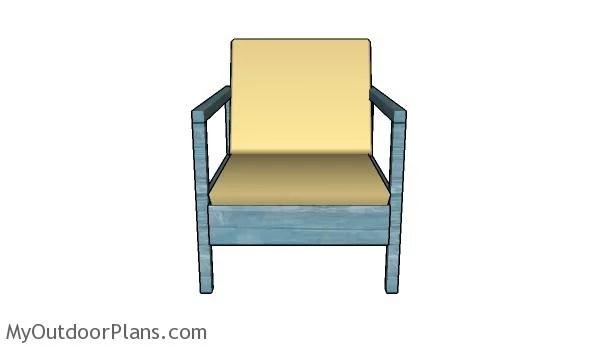 Free Outdoor Chair Plans Myoutdoorplans Free