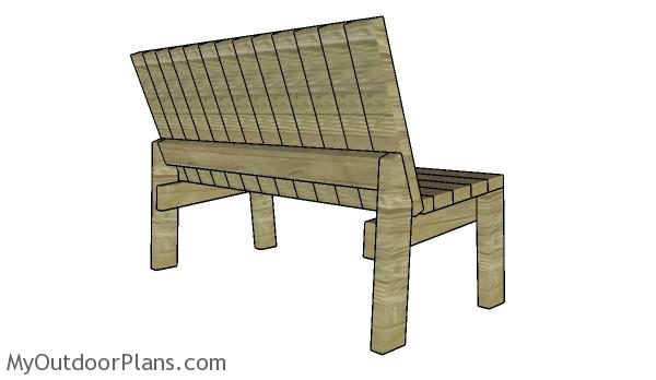 2x4 Garden Bench Plans Myoutdoorplans Free Woodworking