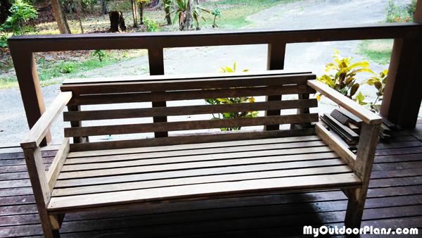 Diy Backyard Sofa Myoutdoorplans Free Woodworking