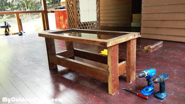 Diy Rustic Coffee Table Myoutdoorplans Free