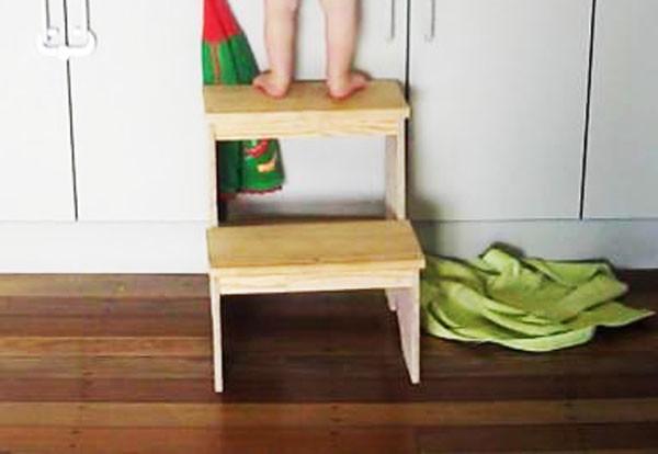 Diy Step Stool Myoutdoorplans Free Woodworking Plans