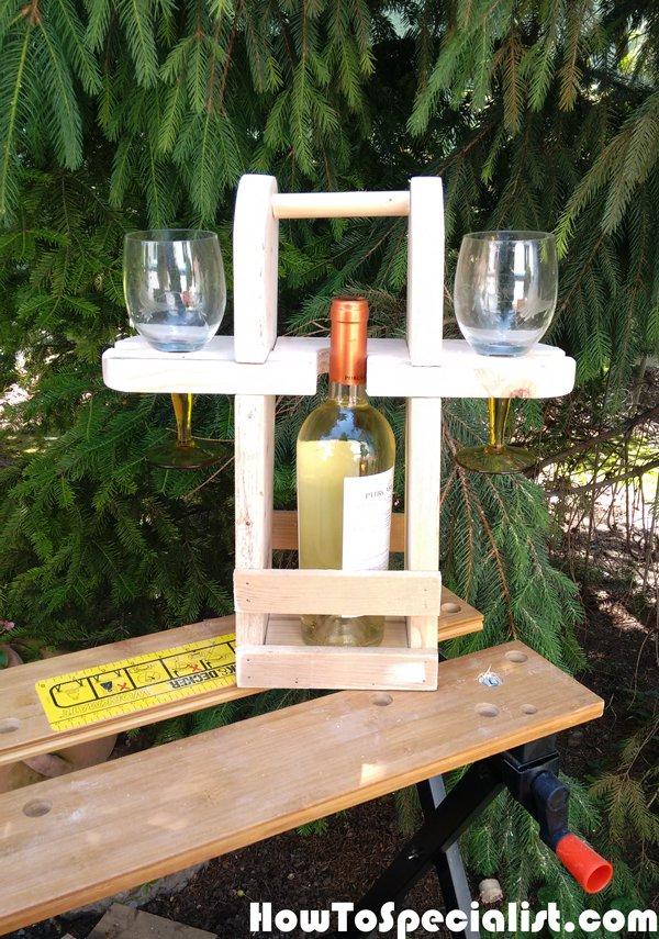 Diy Picnic Caddy Myoutdoorplans Free Woodworking Plans