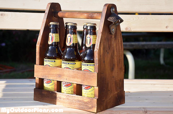 Diy Beer Caddy Myoutdoorplans Free Woodworking Plans