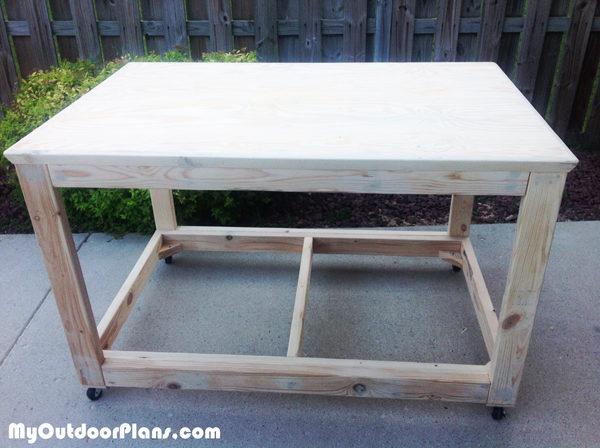 Diy Portable Workbench Myoutdoorplans Free Woodworking