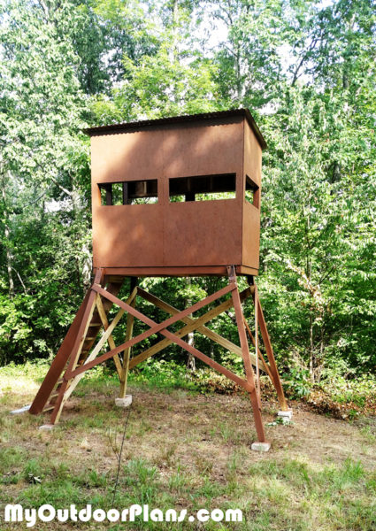 Diy Deer Shooting Blind Myoutdoorplans Free