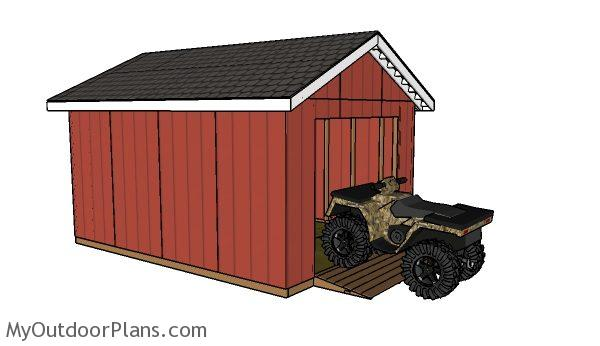 Outdoor Shed Building Plans