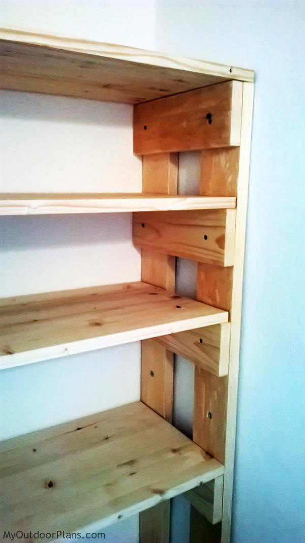 Diy Wood Garage Shelves Myoutdoorplans Free