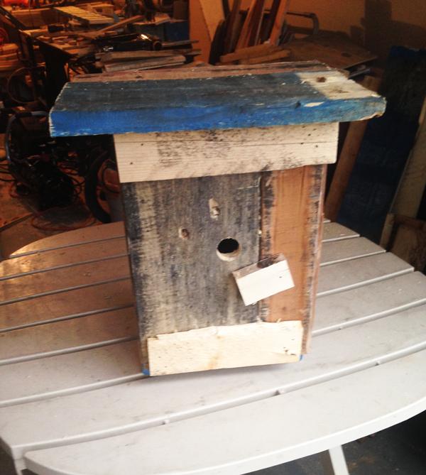 Diy Pallet Birdhouse Myoutdoorplans Free Woodworking