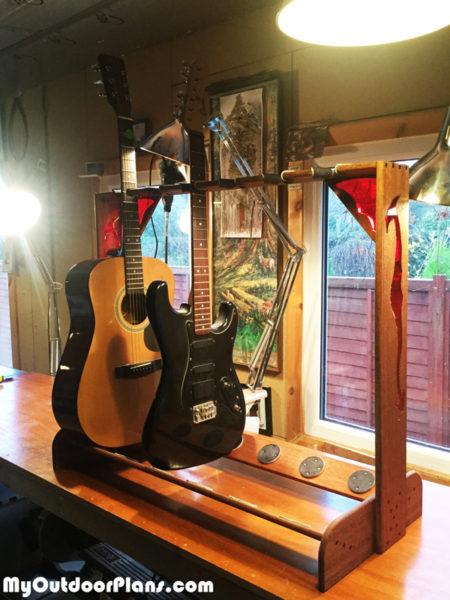 Dragon Multi Guitar Stand Myoutdoorplans Free