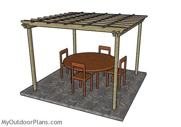 Outdoor Pergola Plans Myoutdoorplans Free Woodworking