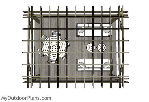 12x16 Pergola Plans Myoutdoorplans Free Woodworking