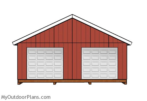 24x24 Shed Plans Myoutdoorplans Free Woodworking Plans