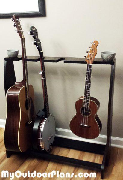 Building A Diy Multi Guitar Stand Myoutdoorplans Free