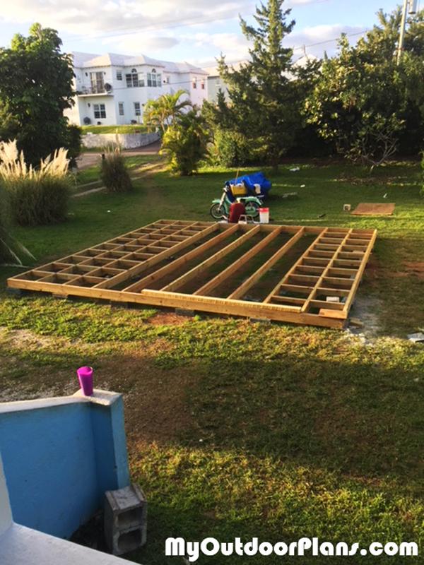 Diy 20x20 Garden Deck Myoutdoorplans Free Woodworking