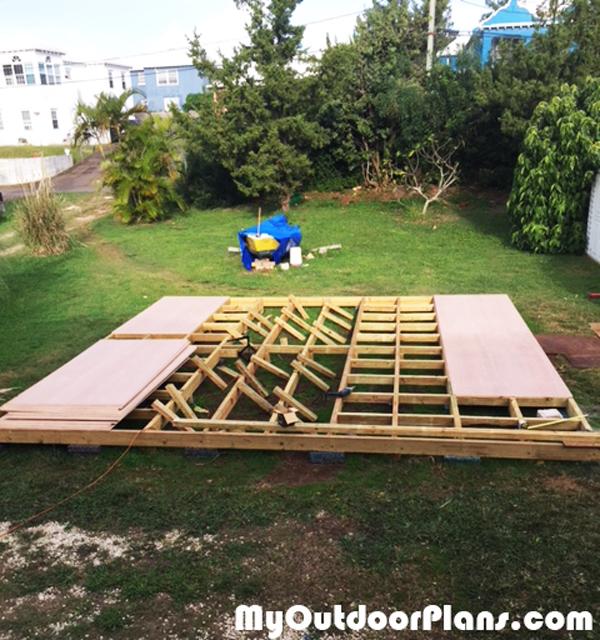 Diy Garden Shed Floor