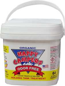 HAPPY CAMPERS Organic RV Holding Tank Treatment - happy camper toilet treatment