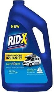Rid-X RV Toilet Treatment - best RV black tank treatment