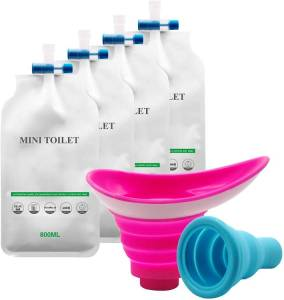 YYAN Portable Female Male Urination Device With Urinal Bag - feminine urinary device for car travel