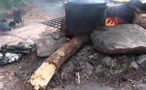 How to Boil Water While Camping with Campfire