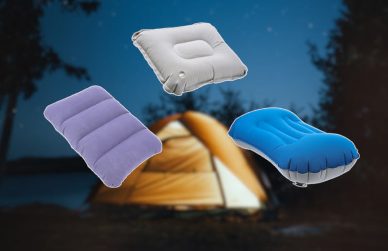 Best Inflatable Camping Pillow Reviews