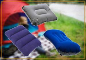 Best Inflatable Camping Pillows