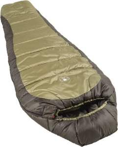 Coleman 0℉ Cold-Weather Mummy Sleeping Bag for Big and Tall Adults