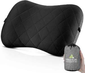 Hikenture Camping Pillow with Removable Cover - Best Lightweight Camping Pillow