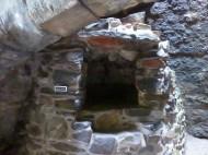 bread oven at Aberdour Castle