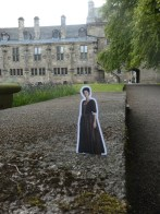 Claire at Falkland Palace