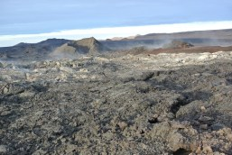 Lava field from the '84 eruption
