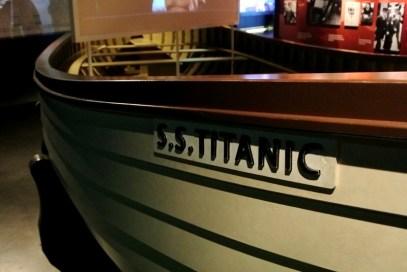 Original lifeboat of RMS Titanic
