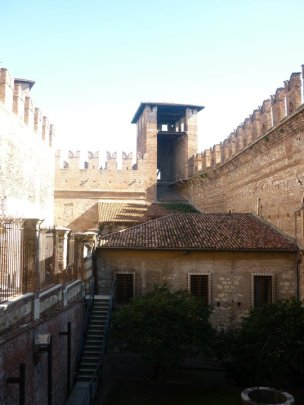 Inside Castelvecchio