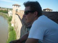 On top of the Castelvecchio