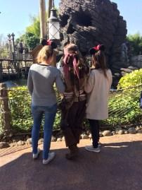 Jack Sparrow - Adventureland, April 2017