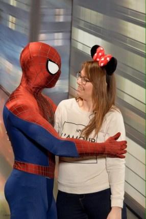 Spider Man - Walt Disney Studios, April 2017
