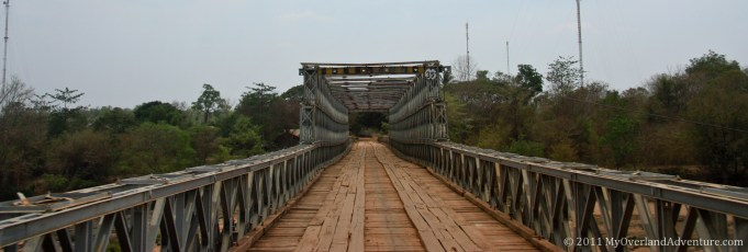 Bridge on route to Ban Lung