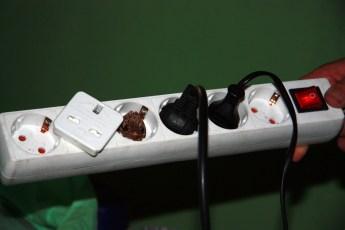 Frog in Power Adaptor