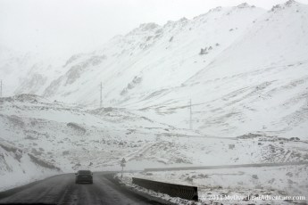 First signs of snow - Tor Ashuu Pass