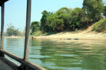 Boat ride on the Mekong