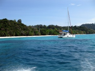 From speedboat