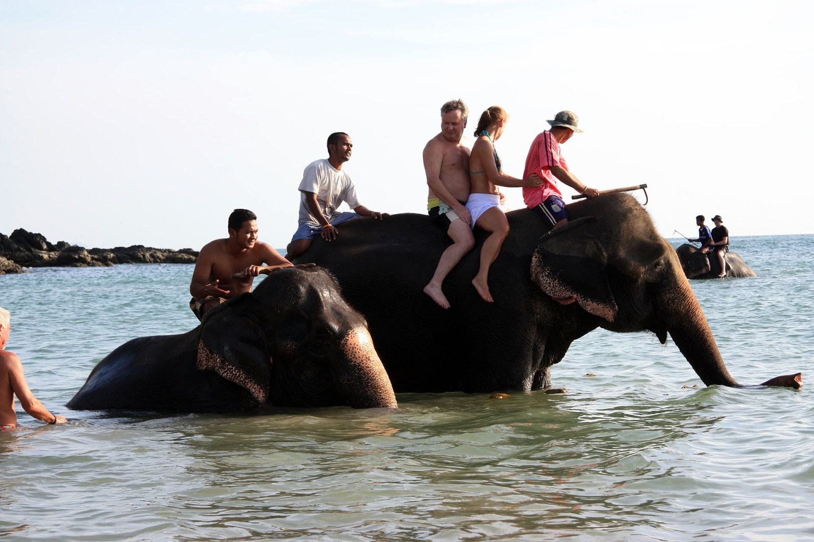 Elephant rides on Kantiang